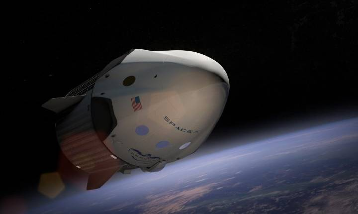 Cápsula Dragon da SpaceX chega à Estação Espacial Internacional