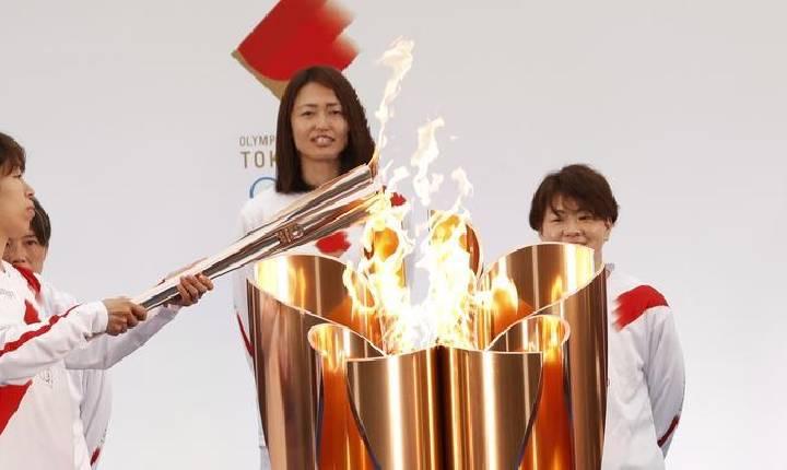 Japão começa revezamento da tocha olímpica sob a sombra da pandemia