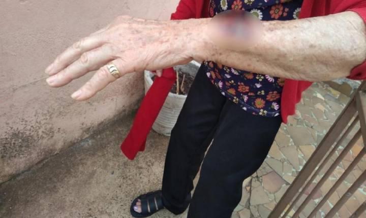 Neta é suspeita de agredir a avó em Anápolis