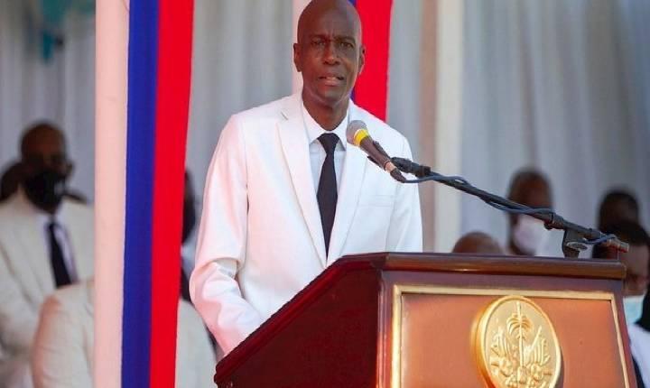 Presidente do Haiti. Jovenel Moise. é assassinado a tiros dentro de casa