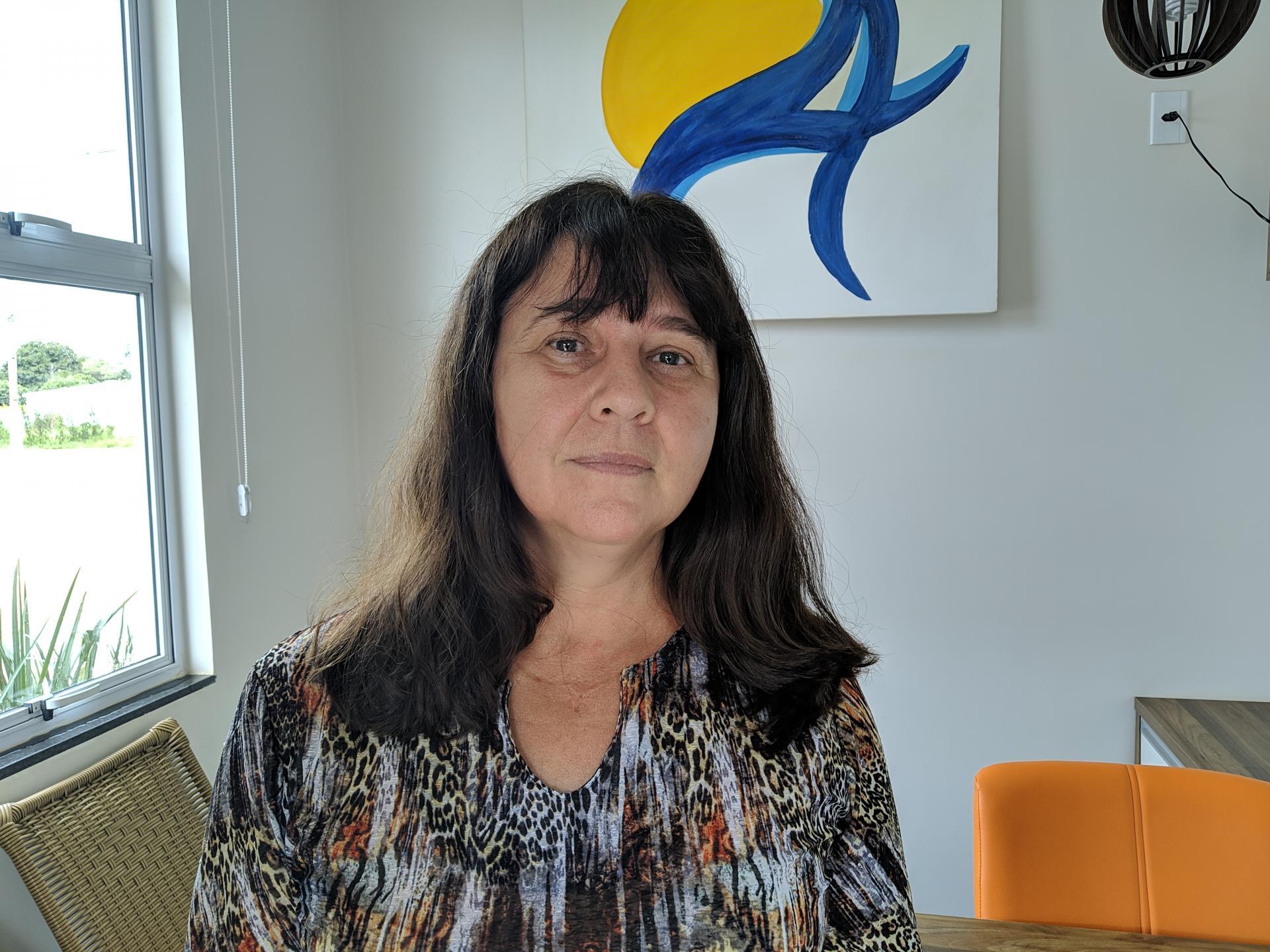 Entrevista com a Secretária de Educação de Chapadão do Céu, Nailde Volk