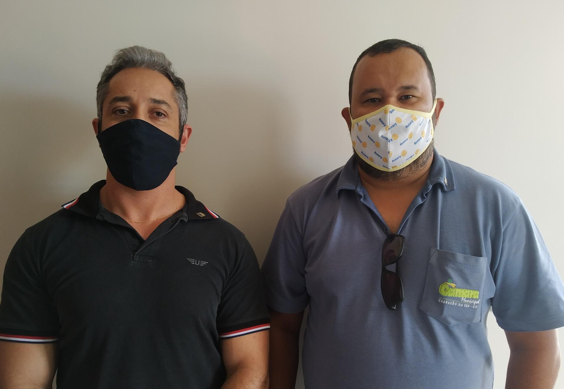 Entrevista com o Presidente do Rotary Club de Chapadão do Céu, Xester Mateus e Rafael Matos vice-presidente