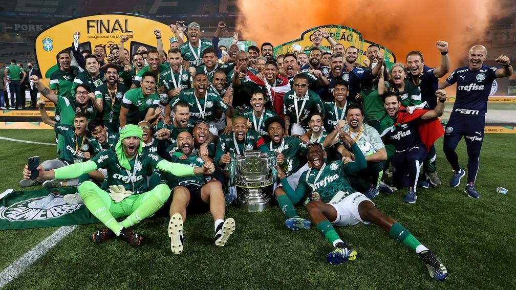 Palmeiras vence Grêmio e é tetracampeão da Copa do Brasil