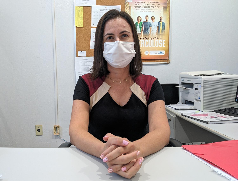 Entrevista com a Coordenadora de Atenção Básica da Saúde de Chapadão do Céu - GO, Fernanda Iembo.