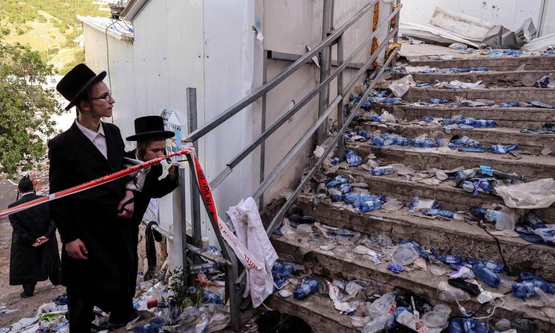 Pelo menos 44 pessoas morrem esmagadas durante evento religioso em Israel
