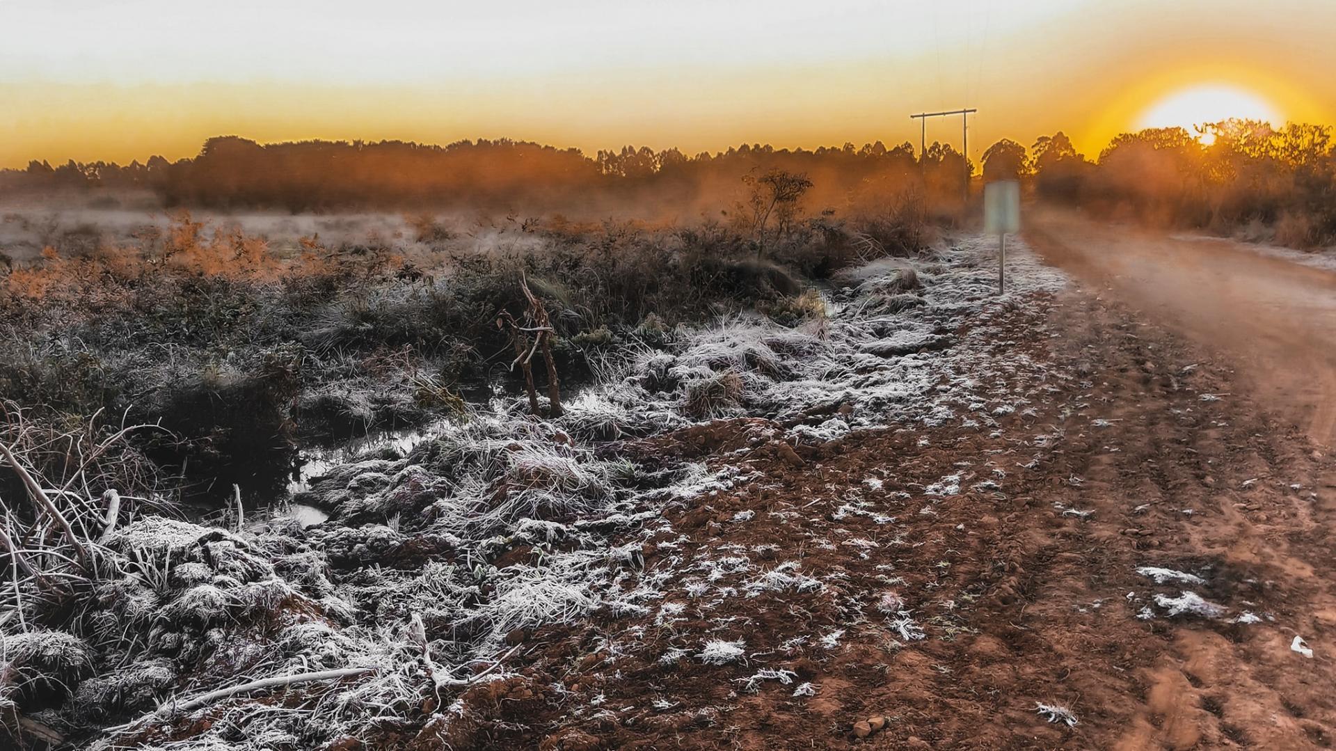 Chapadão do Céu teve a menor temperatura registrada em Goiás no inicio desta quinta-feira