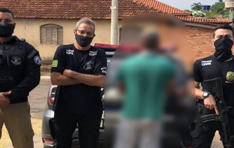 Trio é preso suspeito de matar homem e arrastar corpo em moto, em Palestina de Goiás